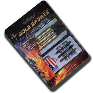 Kit de Dardos Gold Sports Profissional 21 gramas