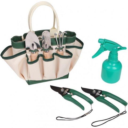 Kit de Ferramentas Nautika Primavera para Jardinagem - Verde+Bege