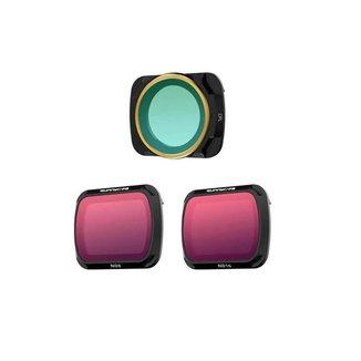 Kit de Filtros para Drone DJI Mavic Air 2 - Sunnylife (ND8 + ND16 + CPL)