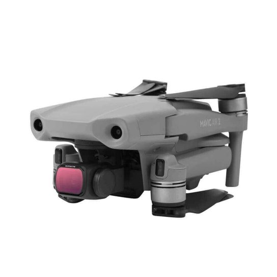 Kit de Filtros para Drone DJI Mavic Air 2 - Sunnylife (ND8 + ND16 + CPL) - Incolor