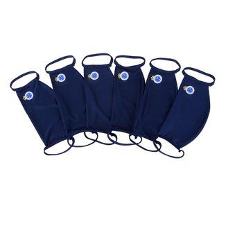 Kit de Máscaras de Proteção Juvenil Cruzeiro Laváveis - 6 Unid