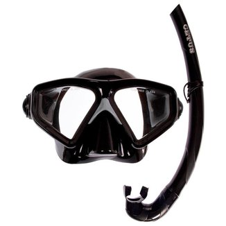 Kit de Mergulho Máscara+Respirador Cetus Rapallo Fun