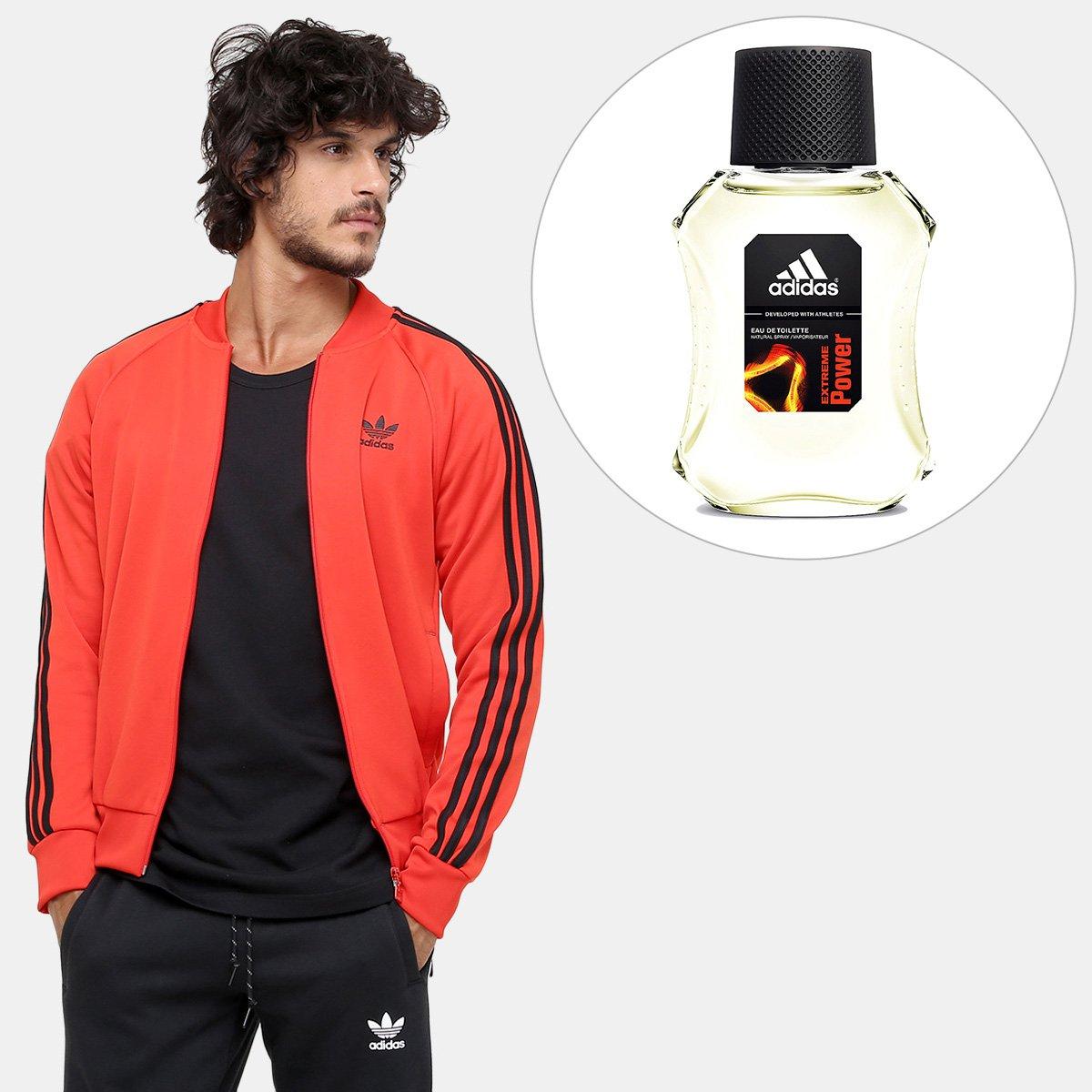 e42dd810bb4 Kit Dia dos Pais Jaqueta Adidas Sst TT + Perfume Adidas Extreme Power EDT  50ml - Compre Agora