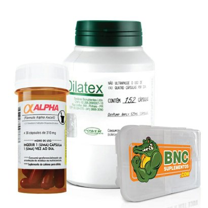 Kit – Dilatex + Cafeína – Power Supplements