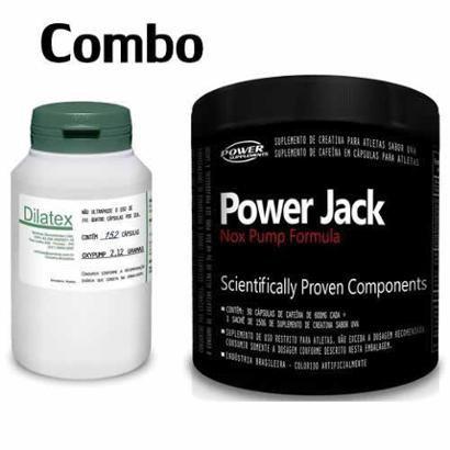 Kit Dilatex + Power Jack Nox Pump Formula – Power Supplements