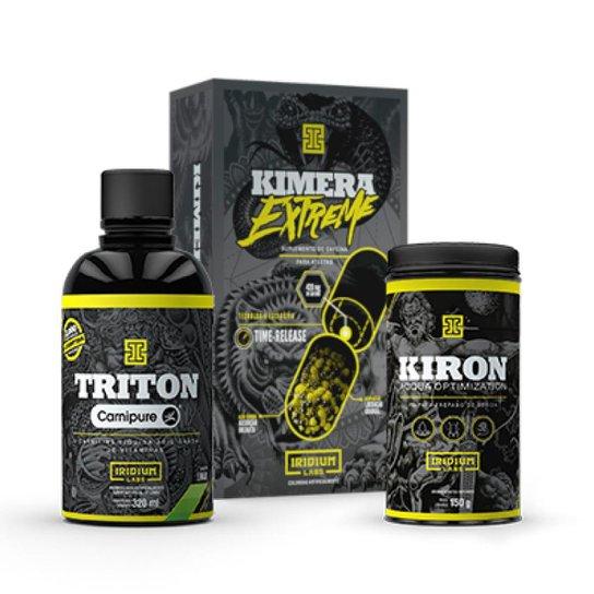 Kit Emagrecimento Extremo - Kimera Extreme + Kiron + Triton -