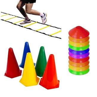 Kit Escada + 8 Cones + 12 Half Cone Funcional Rythmoon