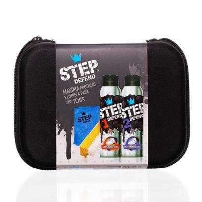 Kit Estojo+Spray Limpador 160ml+Spray Impermeabilizante 160ml+Escova de Limpeza+Pano de Microfibra - Unissex