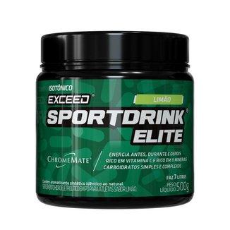 Kit Exceed Isotônico Sport Drink Elite C/ 2 potes 500g