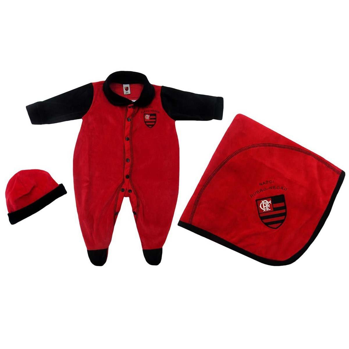 a54e685fdf Kit Flamengo Bebê Manta Plush Unissex - Compre Agora