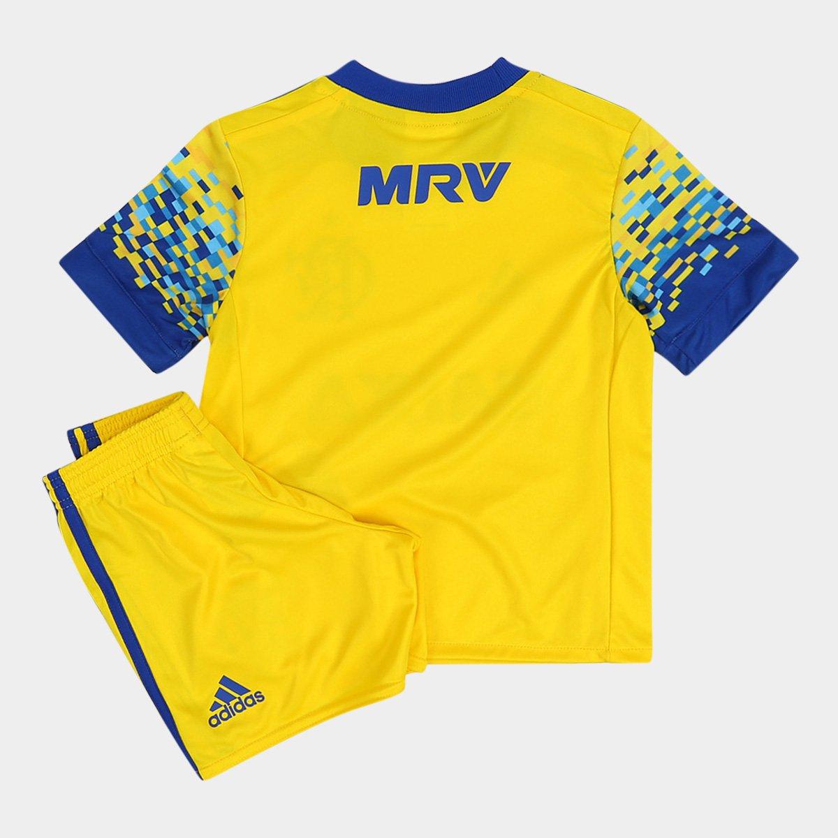 Kit Flamengo Infantil III 17 18 Adidas - Compre Agora  f40c8176a5b37