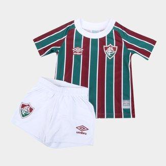 Kit Fluminense Infantil I 21/22 s/n° Torcedor Umbro