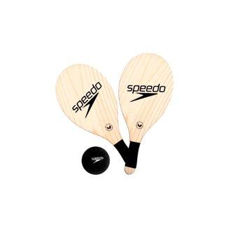 Kit Frescobol Speedo 2 Raquetes + 1 Bola 978116-180