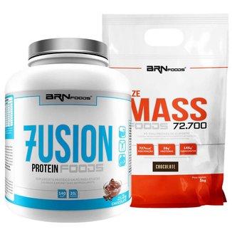 Kit Fusion 2kg + Size Mass 3kg - BRNFOODS