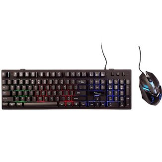 Kit Gamer Teclado LED + Mouse KB013