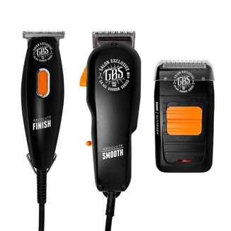 KIT GBS ABSOLUTE FINISH + SHAVER + SMOOTH 220V