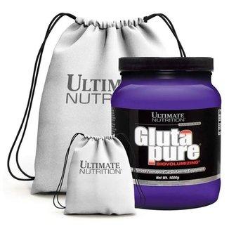 Kit Glutapure 1Kg + Mochila - Ultimate Nutrition (Sem Sabor)