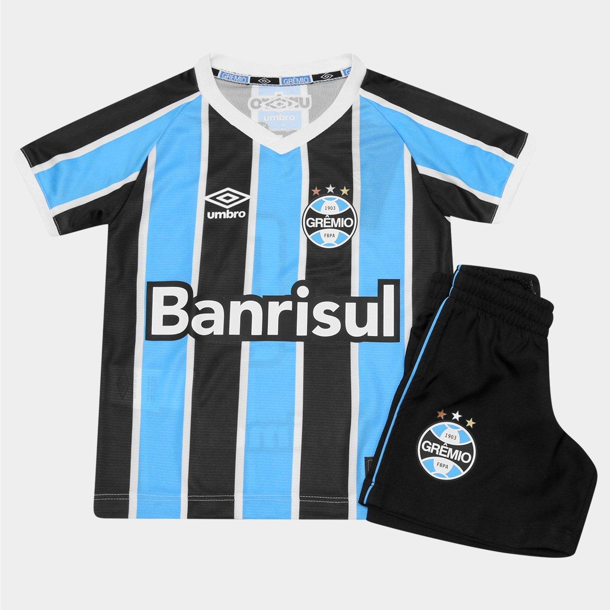 d9e880ae51 Kit Grêmio Infantil 2016 Umbro - Compre Agora