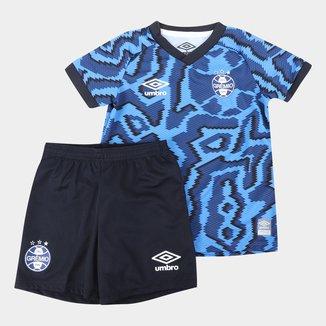 Kit Grêmio Infantil III 21/22 s/n° Torcedor Umbro