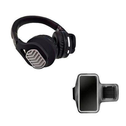 Kit Headphone Bluetooth Exbom HF-570bt + Braçadeira Dagg Armband