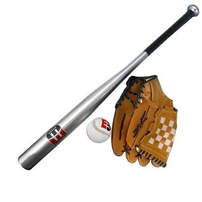 Kit Hyper Taco de Baseball com Bola e Luva - Unissex