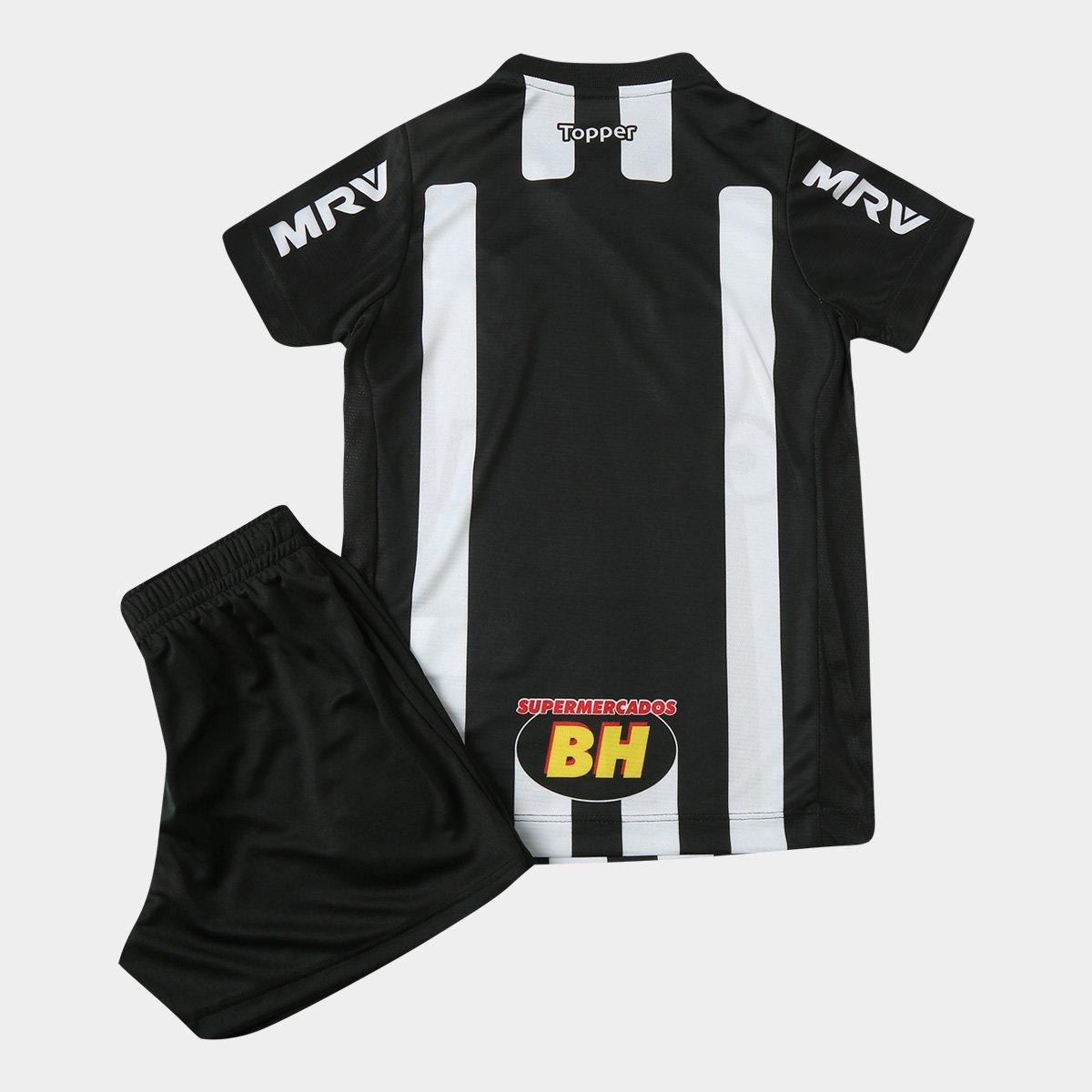 Kit Infantil Atlético-MG I 2018 s n° Torcedor Topper - Compre Agora ... 78fac14cf5d21