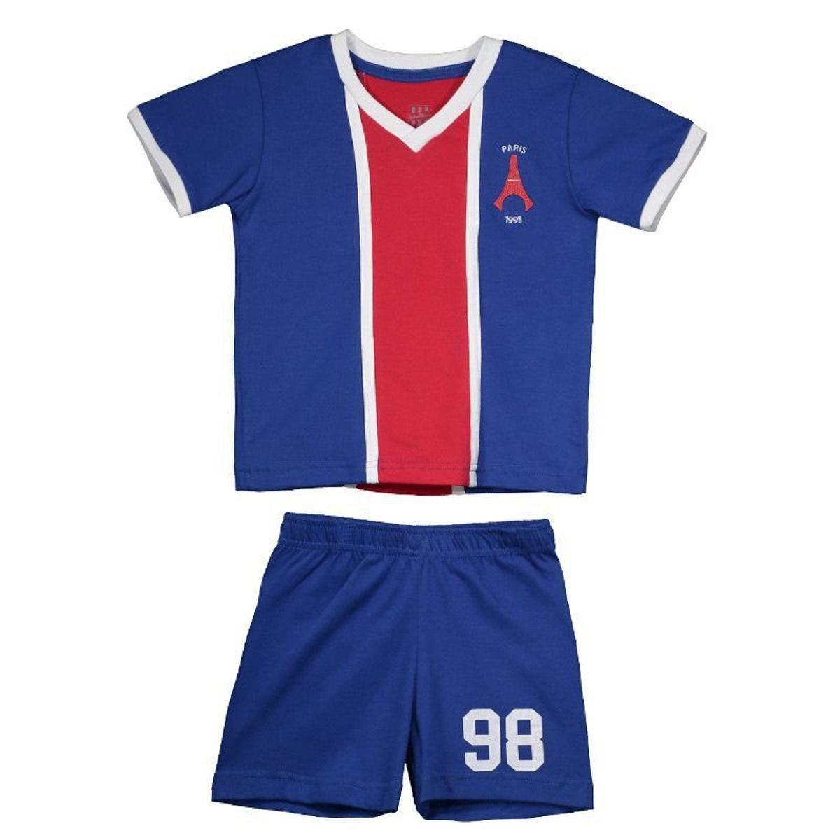 3e7b094cc Kit Infantil Paris Saint-germain Retrô 1998 - Azul - Compre Agora ...