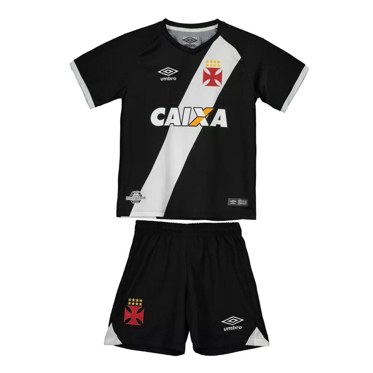 Kit Infantil Umbro Vasco I 2017 - Compre Agora  cb7f573b2701e