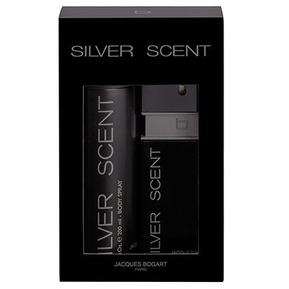 Kit Jacques Bogart Coffret Silver Scent Perfume Masculino EDT 100ml + Desodorante 200ml - Masculino - Incolor