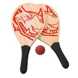 Kit Jogo de Frescobol Red-Nose