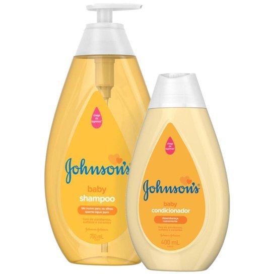 Kit Johnson's Baby Regular: Shampoo 750ml + Condicionador  400ml - Única