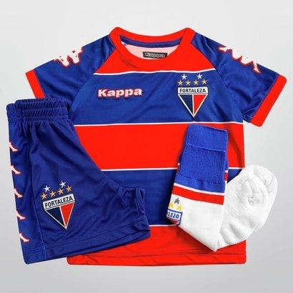 dddfe2132f Kit Kappa Fortaleza I 2015 Infantil - Compre Agora
