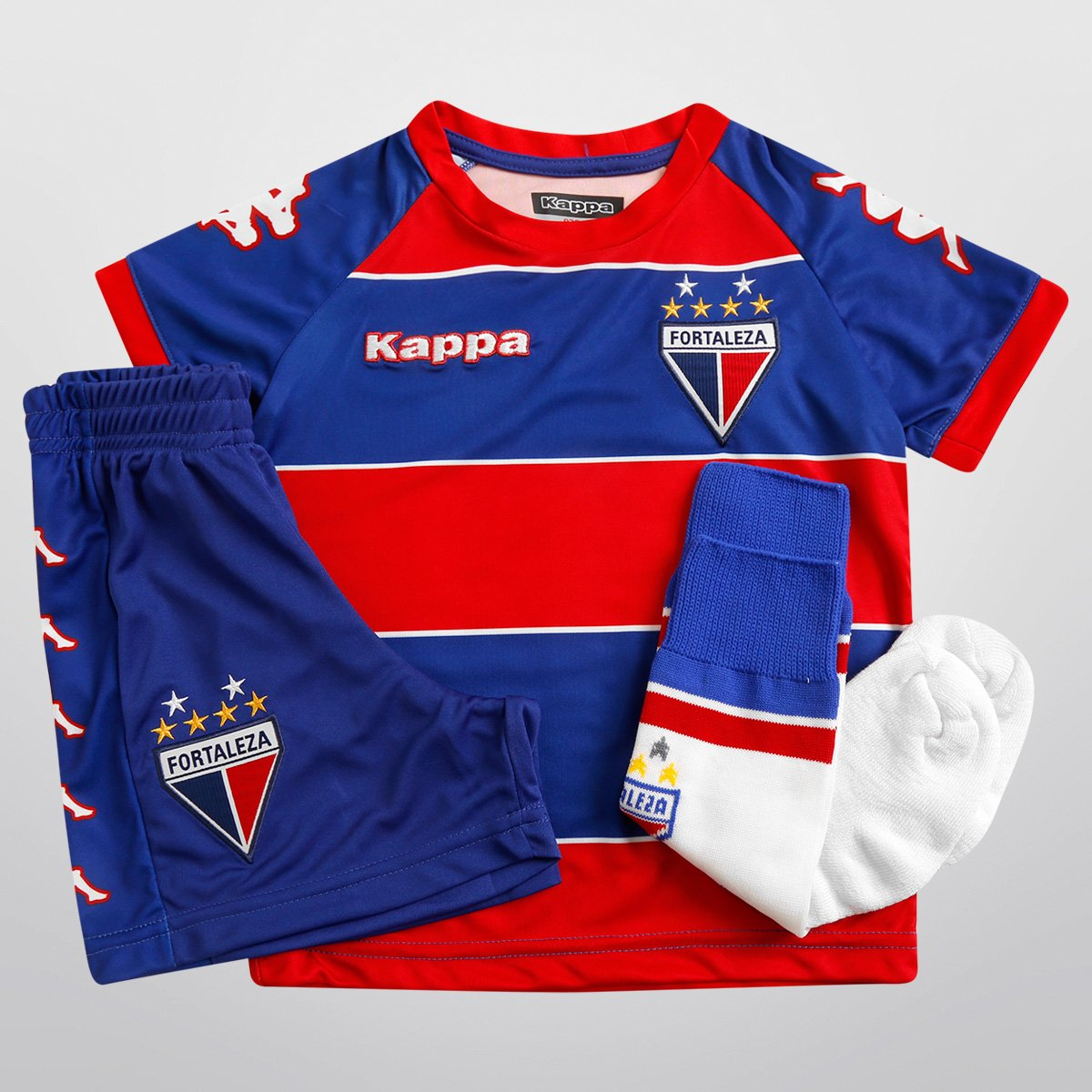Kit Kappa Fortaleza I 2015 Infantil - Compre Agora  4c9a9a274990c