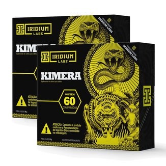 Kit Kimera Termogênico 2 Unidades (60 Comprimidos) Iridium Labs