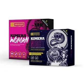 Kit Kimera Woman + Kimera Night - Emagrecimento Dia e Noite