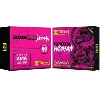 Kit Kimera Woman Termogênico + Soma Pro Woman Pré Hormonal
