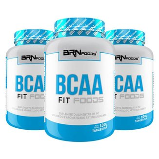 Kit Leve 3 Pague 2 BCAA Fit Foods 120 Tabletes - BRNFOODS