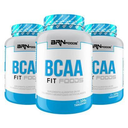 Kit Leve 3 Pague 2 Premium BCAA Foods 120 Cápsulas – BRNFOODS