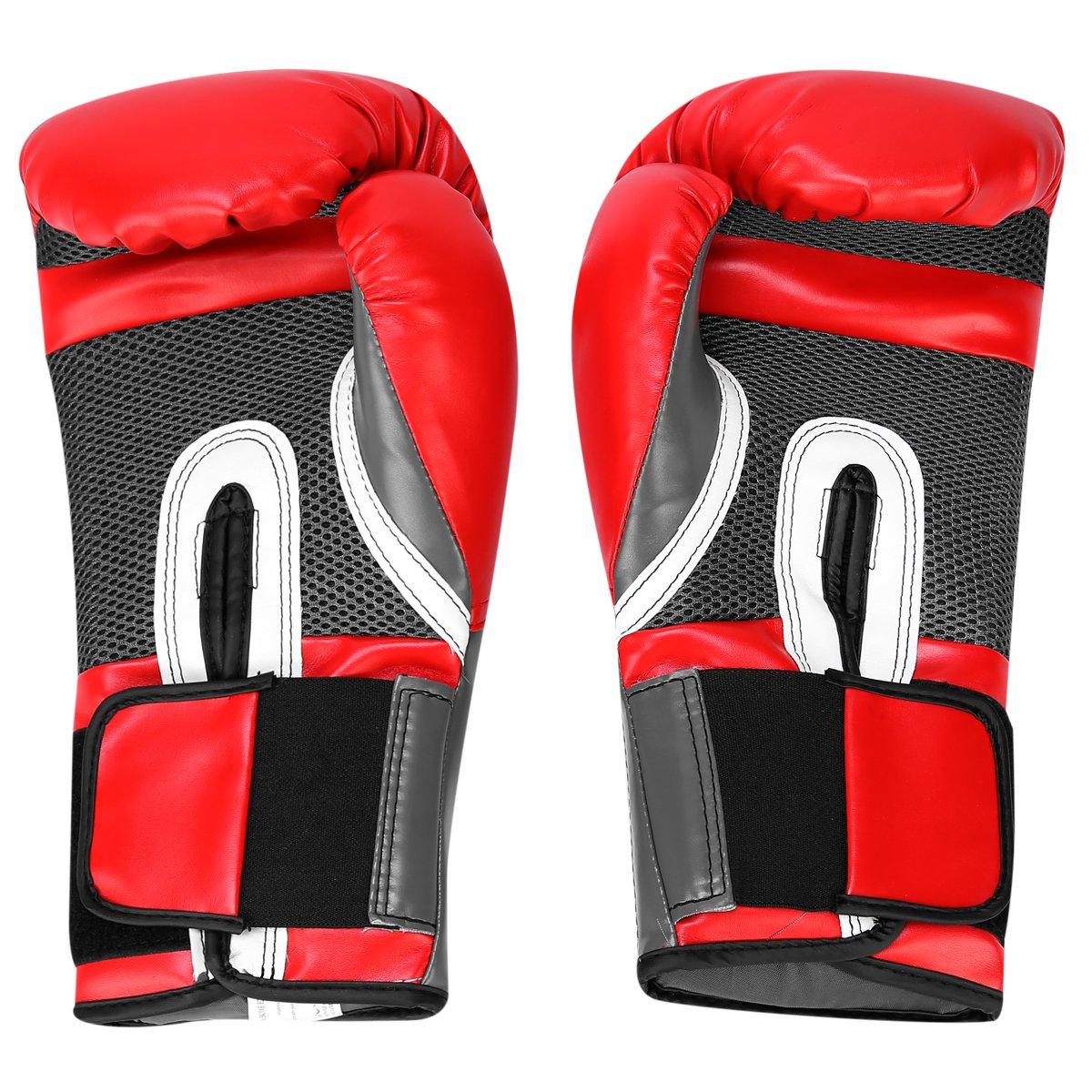 ... Kit Luva de Boxe Muay Thai Everlast Pro Style - 16 oz + Bandagem  Elástica dc8aafb782798
