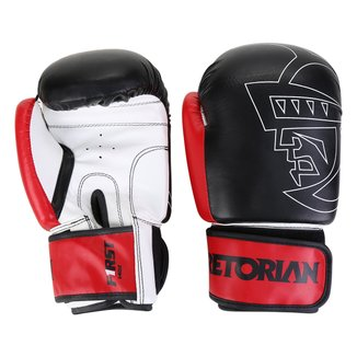 Kit Luva de Boxe/Muay Thai Pretorian First 14 Oz + Bandagem + Protetor Bucal