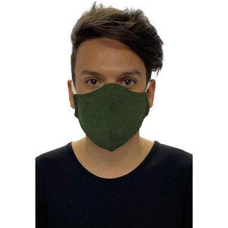Kit Máscara de Proteção Amazonia Vital Adulto Algodão Lavável com 5 Unidades