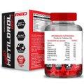 Kit Massa Muscular 2x Metildrol (60 Tabs) Red Series + 1 Dilatex (152 Caps) - Power Supplements
