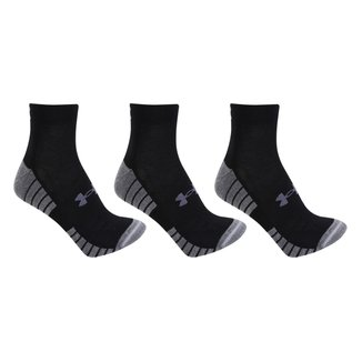 Kit Meia Under Armour Heatgear Tech Locut 3 Pares