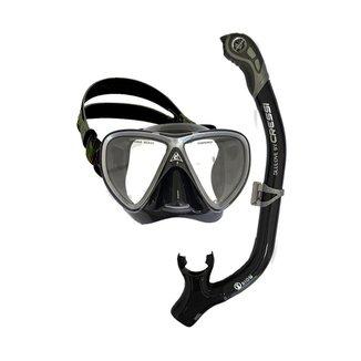 Kit Mergulho Máscara + Snorkel Cressi Ikarus & Orion