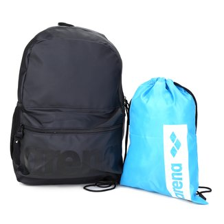 Kit Mochila Arena Backpack + Sacola Arena Gym Sack