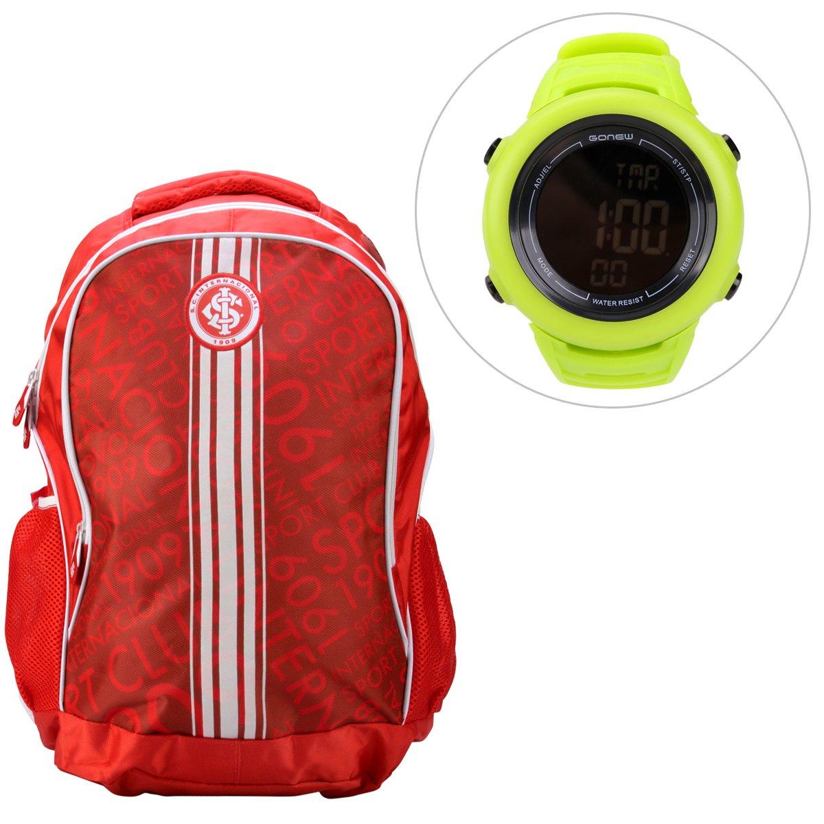 47c597d0db Kit Mochila Internacional + Relógio Gonew Energy 2 - Compre Agora ...