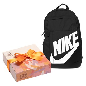 Kit Mochila Nike Elemental 2.0 + Caixa de Bombom c/ 9 unidades