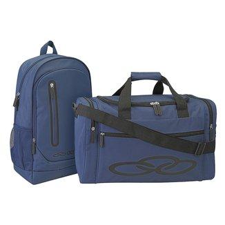 Kit Mochila Olympikus Braze + Mala Olympikus Gym Bag