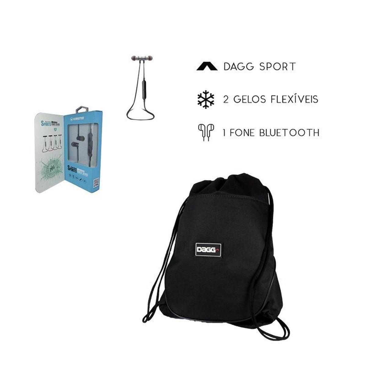 f85431d47 Kit Mochila Térmica e Fone Bluetooth - Preto - Compre Agora | Netshoes