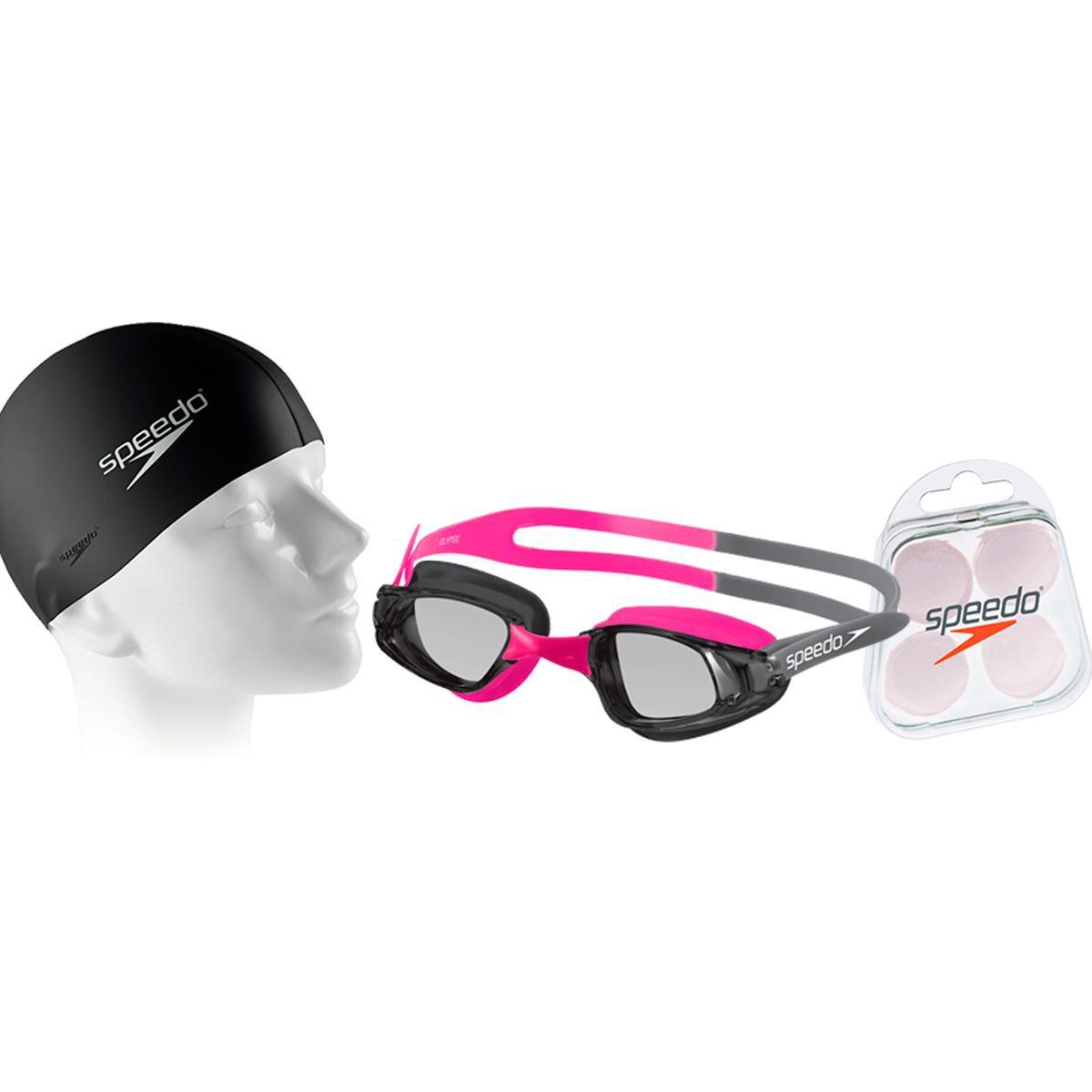 8a1ec8a222440 Kit Natação Óculos Glypse + Protetor e Touca - Compre Agora